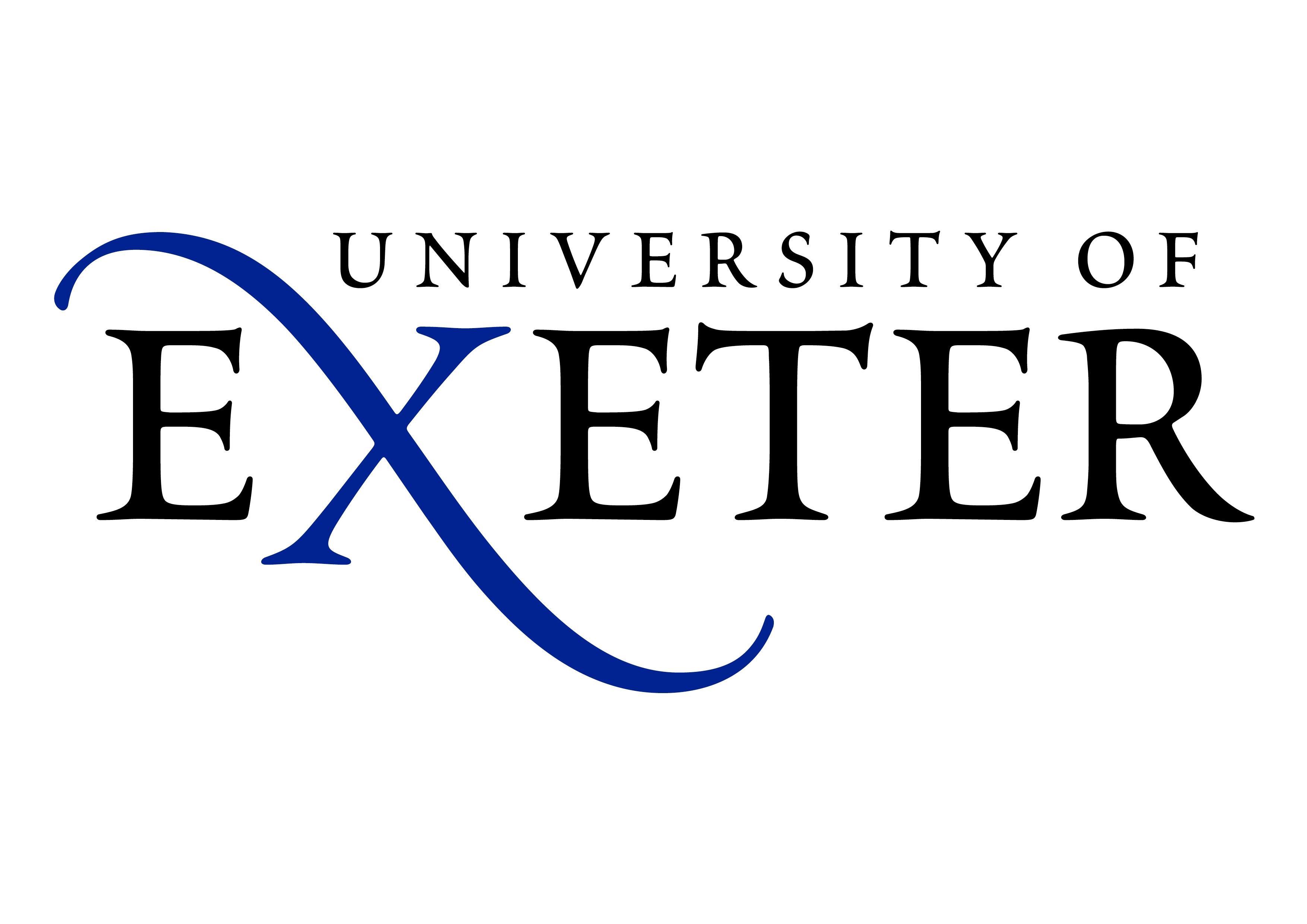 Resultado de imagen para logo de la Universidad de Exeter