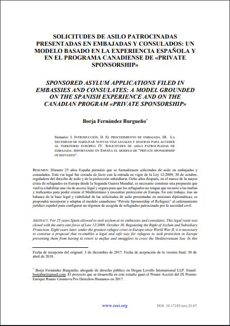REEI Revista Electrónica de Estudios Internacionales